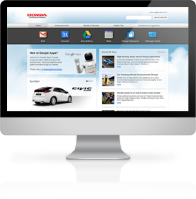 Honda Intranet Portal