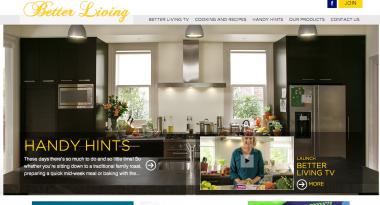 Betterliving Homepage