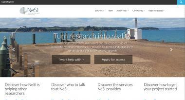 NeSI New Zealand's computing research infrastructure