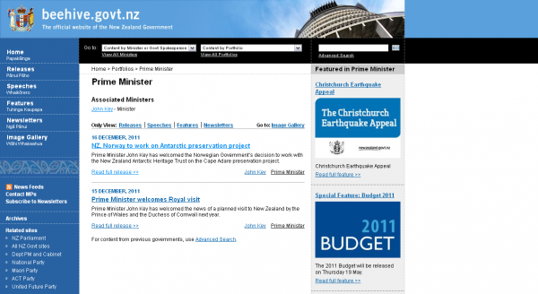 The official website of the New Zealand Government