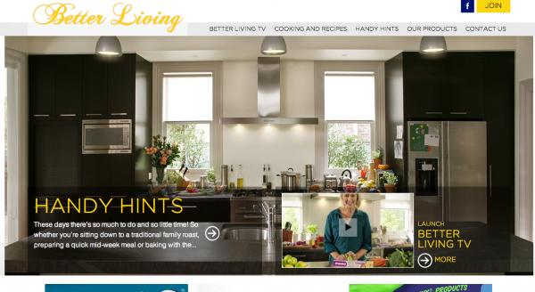 Betterliving Homepage