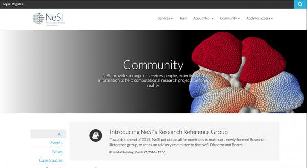 NeSI New Zealand's computing research infrastructure